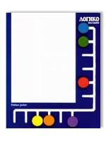 """Пособие состоит из планшета с разноцветными передвижными фишками и комплектов карточек. Каждый комплект содержит 8 иллюстрированных карточек по конкретной теме. Ребенок поочередно вставляет карточки в планшет и, передвигая фишки, отвечает на поставленные вопросы - подбирает пары изображений ( объект и его признак, аналог, символ, этап развития, ракурс и т. д. ). Оборотная сторона содержит ответы для самопроверки, дополнительные вопросы и темы бесед по иллюстрации. Всего ожидается выход свыше 100 комплектов карточек по основным направлениям развития ребенка-дошкольника. """"Логико-малыш"""" позволяет: - Быстро осуществлять контроль уровня знаний и развития детей; - В игровой форме закреплять и систематизировать освоенный материал, учитывая индивидуальные особенности каждого ребенка; - Комплексно развивать логическое мышление, внимание, память, воображение и речь; - Долгие годы использовать планшет, постепенно пополняя комплект новыми карточками. Как работать с планшетом: 1. Все фишки расположите в нижнем ряду планшета. 2. Выберите карточку из комплекта. 3. Вставьте карточку в планшет вопросной стороной к себе (сверху зеленая полоса с вопросом). 4. Внимательно рассмотрите карточку. Вы видите 6 изображений на основном поле (они отмечены кружками, стрелочками или другими знаками в цвет фишек) и 6 изображений в правом вертикальном ряду. Между ними нужно найти логическую связь - подобрать пары. 5. Выберите одно изображение основного поля, найдите фишку соответствующего цвета и передвиньте ее к правильному ответу в правом ряду карточки. Таким образом выполните остальные задания. 6. Переверните карточку для проверки результата. Цвета фишек на планшете и кружков на карточке должны совпасть. 7. В случае ошибки верните фишку на исходное место, переверните карточку и постарайтесь найти правильное решение. 8. Снова проверьте результат на ответной стороне. 9. На ответной стороне на красной полосе расположены дополнительные вопросы или темы для бесед.  Содержание. Бытовая культура - Наш"""