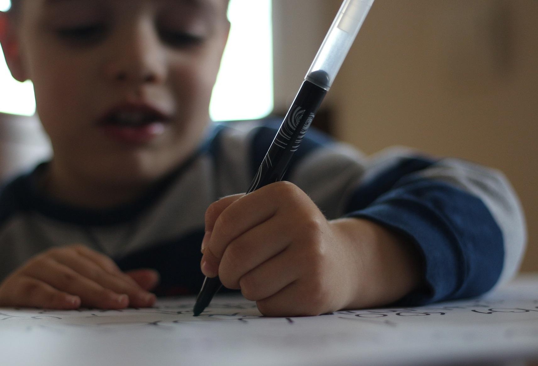 Уроки обучения письму