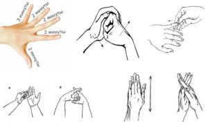 самомассаж пальцев рук