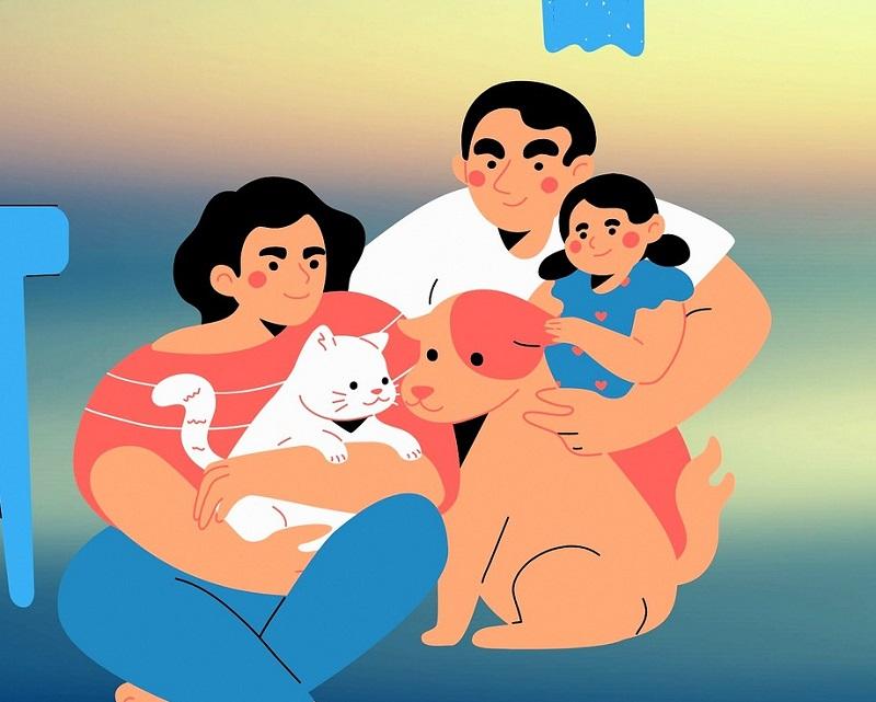 Картинки для ДОУ Моя семья